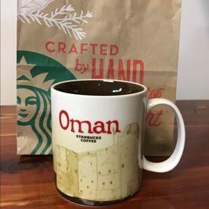 Oman Starbucks mug